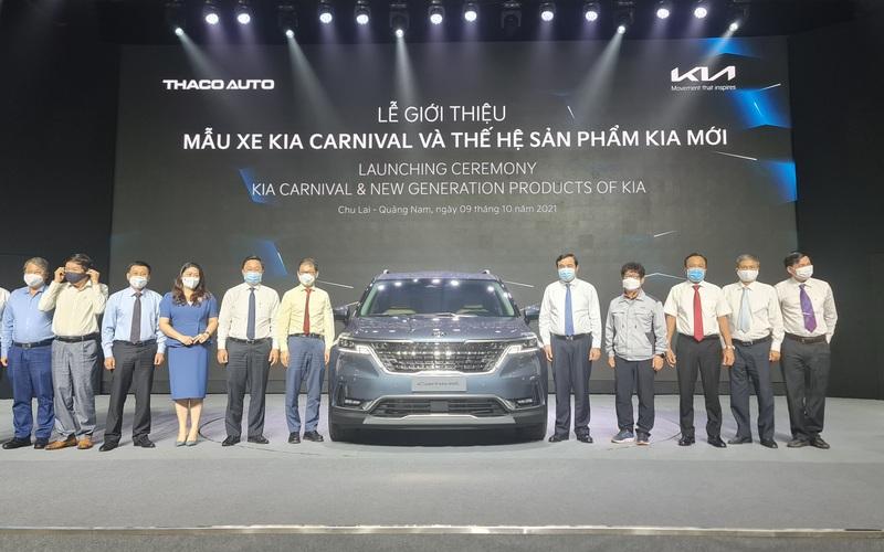 Tỷ phú Trần Bá Dương ra mắt dòng xe Kia Carnival 2022 có giá bán từ 1,199 đến 2,399 tỷ đồng