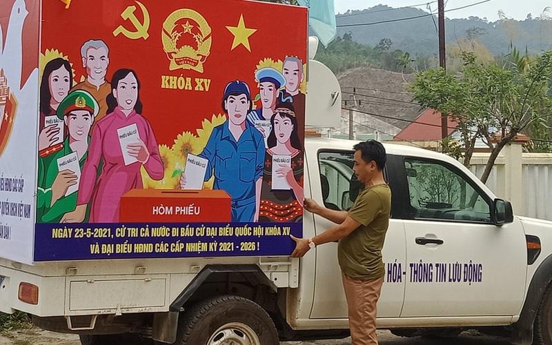 Quảng Nam: Huyện biên giới Tây Giang đẩy mạnh công tác tuyên truyền cho ngày bầu cử