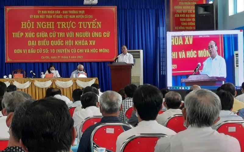 Chủ tịch nước Nguyễn Xuân Phúc: Kiên quyết giải quyết quyền lợi của người dân liên quan quy hoạch treo