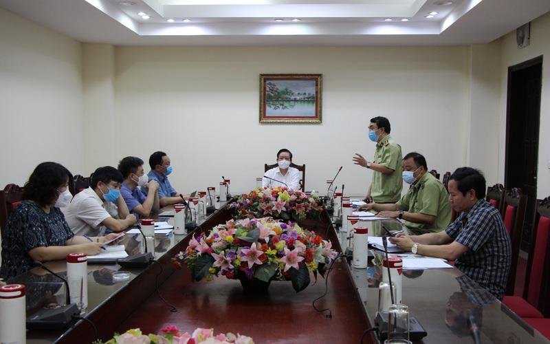 Làm việc với Tổng cục QLTT, Chủ tịch Hội NDVN Lương Quốc Đoàn: Hỗ trợ nông dân Bắc Giang bán vải thiều