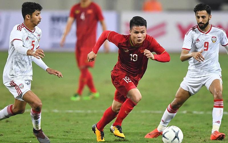 Lịch trực tiếp bóng đá và link xem trực tiếp hôm nay: Xem Việt Nam đấu UAE kênh nào?