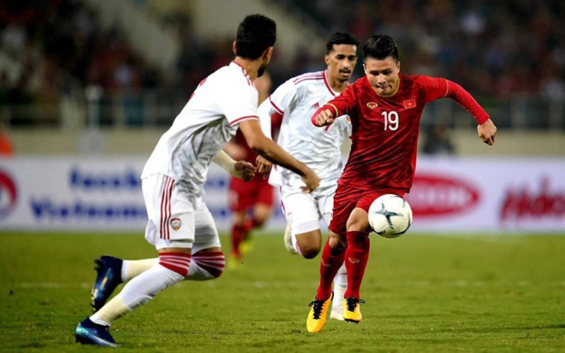 Xem trực tiếp Việt Nam vs UAE trên VTV6, VTV5
