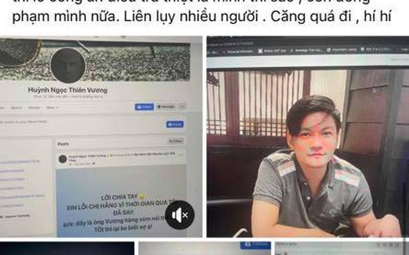 Cục Cảnh sát hình sự Bộ Công an mời Nhâm Hoàng Khang lên làm việc
