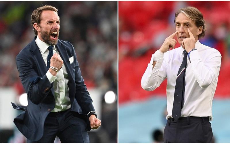 """HLV ĐT Anh """"chơi chiêu"""" với Italia trước trận chung kết EURO"""