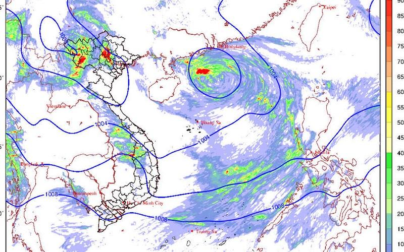 Cảnh báo vùng áp thấp trên biển Đông có thể mạnh thêm và gây nguy hiểm