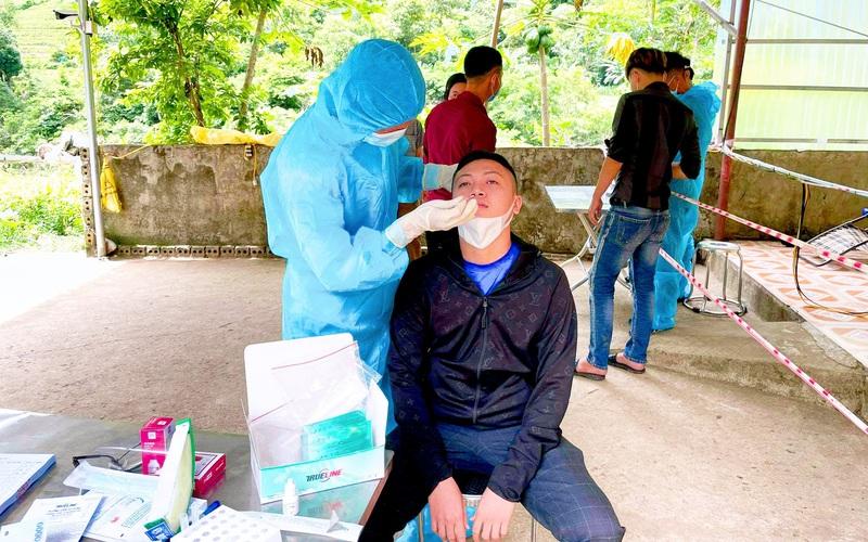 Lai Châu: Thêm một trường hợp dương tính với SARS-CoV-2