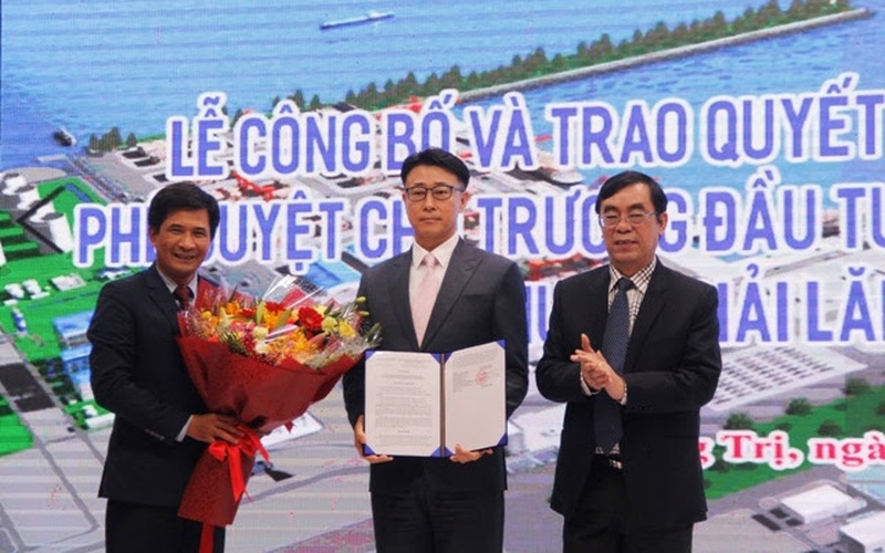 """Quảng Trị: Đại dự án cảng Mỹ Thuỷ khởi công rồi... """"đắp chiếu""""?"""