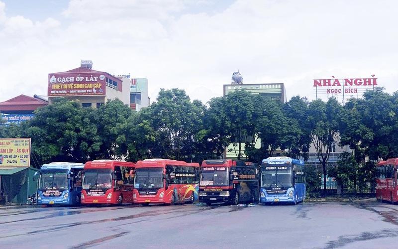 Lai Châu: Tạm dừng hoạt động vận tải hành khách đi Hà Nội