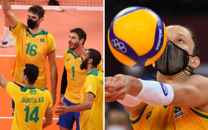 Tại sao VĐV đội bóng chuyền Olympic Brazil lại đeo khẩu trang khi thi đấu?