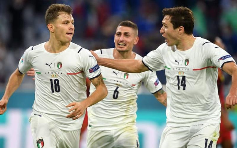 Lối chơi thiên biến vạn hóa giúp Italia đánh bại Bỉ