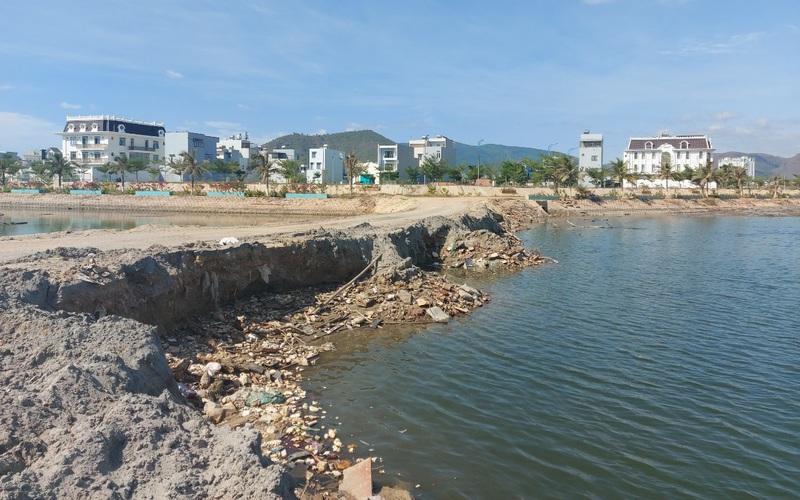 Bình Định: Nguy cơ 'góp lũ' từ các khu đô thị, biệt thự đang thi công ở Quy Nhơn
