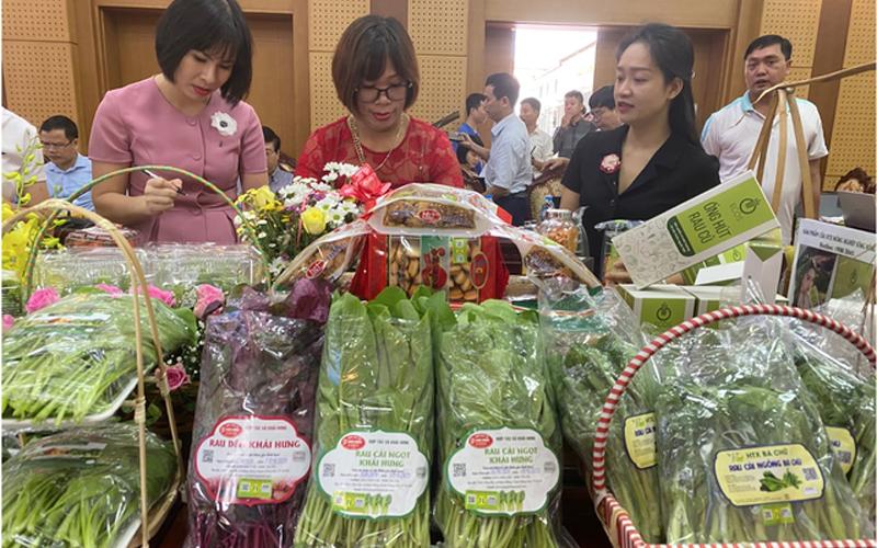 Xây dựng thương hiệu, nâng sức cạnh tranh cho nông sản Thủ đô