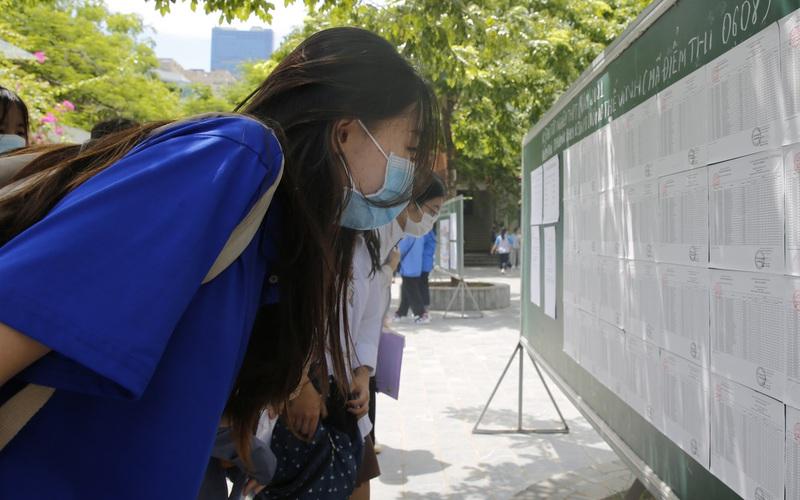 Hà Nội có số lượng thí sinh điều chỉnh nguyện vọng lớn nhất cả nước