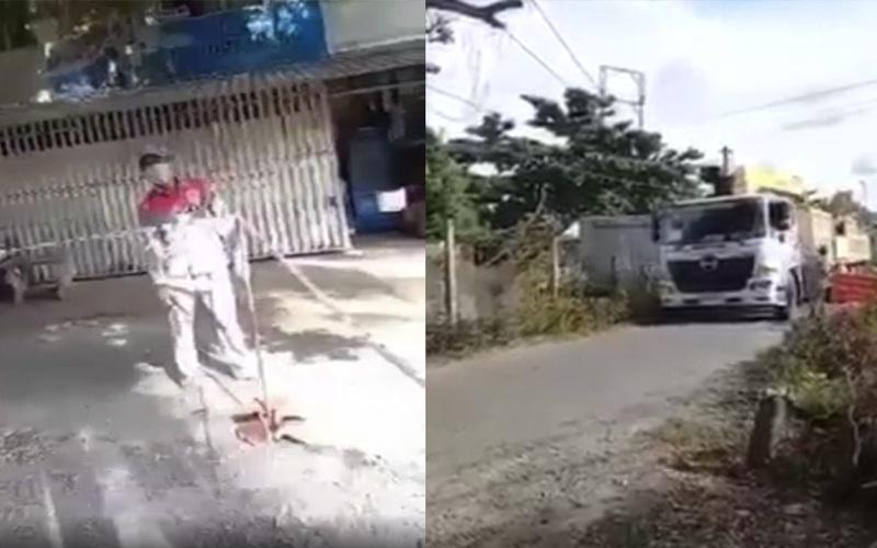 """Làm rõ vụ Trưởng phòng CSGT tỉnh Trà Vinh thuê xe chở cây vú sữa """"khủng"""" trong thời gian giãn cách"""