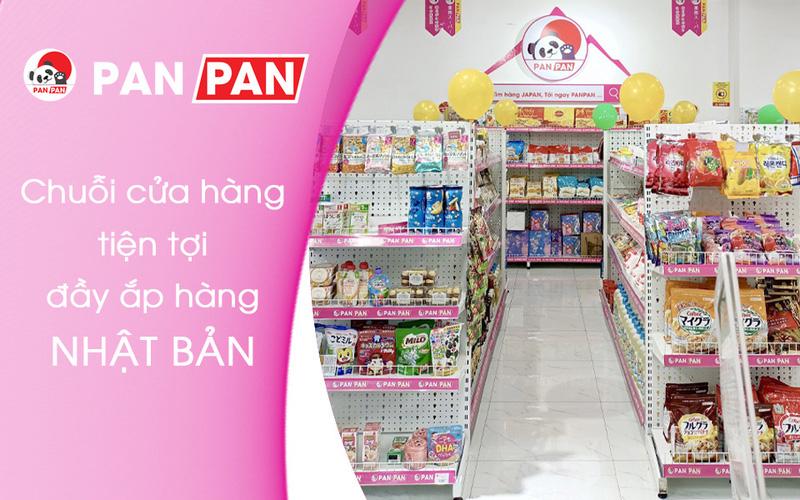PANPAN - Chuỗi Cửa Hàng Tiện Lợi đầy ắp hàng Nhật Bản