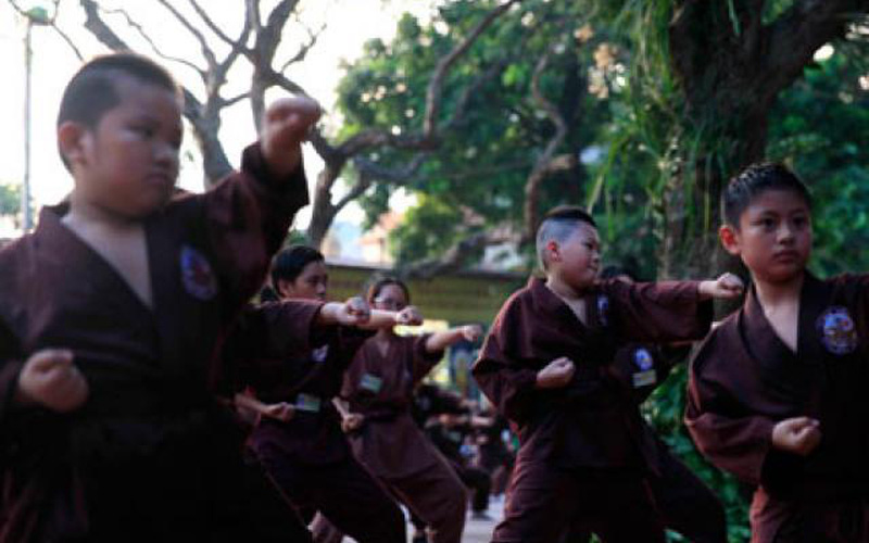 Võ đường Nam Thiên Phật Môn Quyền: Lớp võ nơi cửa Phật