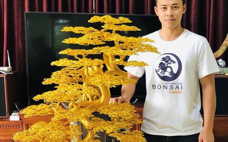 """""""Siêu cây"""" bonsai từ dây đồng, nhôm, đẹp như cây thật, giá bạc triệu"""