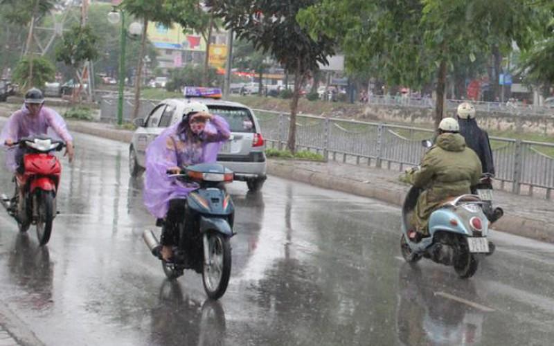 Bắc Bộ chuẩn bị có mưa giông rất mạnh