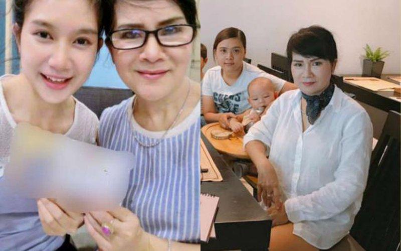 """Mẹ vợ U60 của Lý Hải lại gây """"choáng"""" khi diện mốt giấu quần xì tin"""