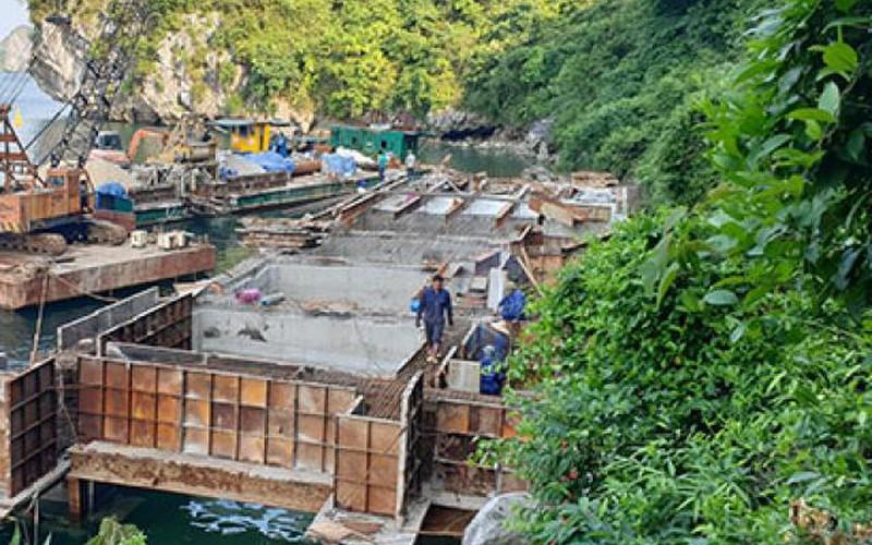 """Vùng lõi di sản vịnh Hạ Long bị """"bê tông hóa"""": Bộ TNMT chỉ đạo nóng"""