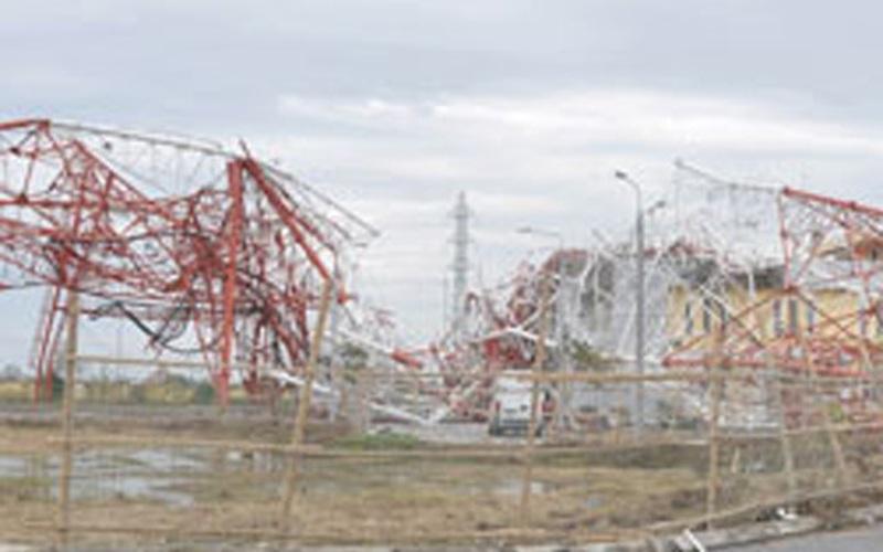 Sập tháp truyền hình Nam Định: Nhiều cá nhân, đơn vị liên đới trách nhiệm