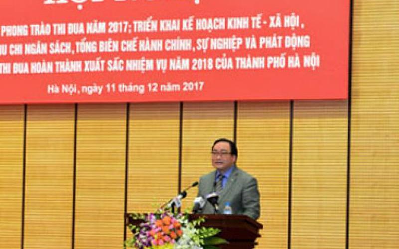 Bí thư Hà Nội yêu cầu giảm bớt hội họp, tăng họp trực tuyến