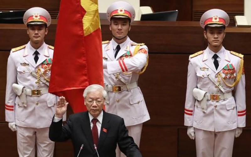 Ảnh: Toàn cảnh lễ tuyên thệ nhậm chức của tân Chủ tịch nước