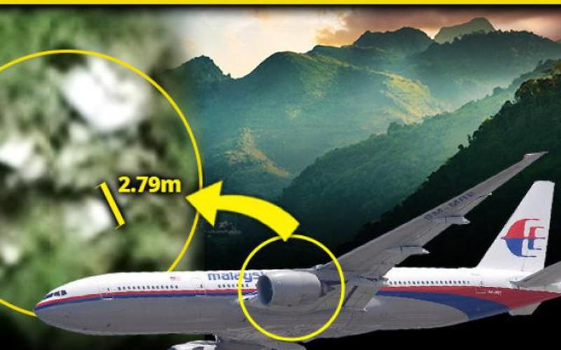 Phát hiện hình ảnh động cơ máy bay MH370 trong rừng Campuchia?