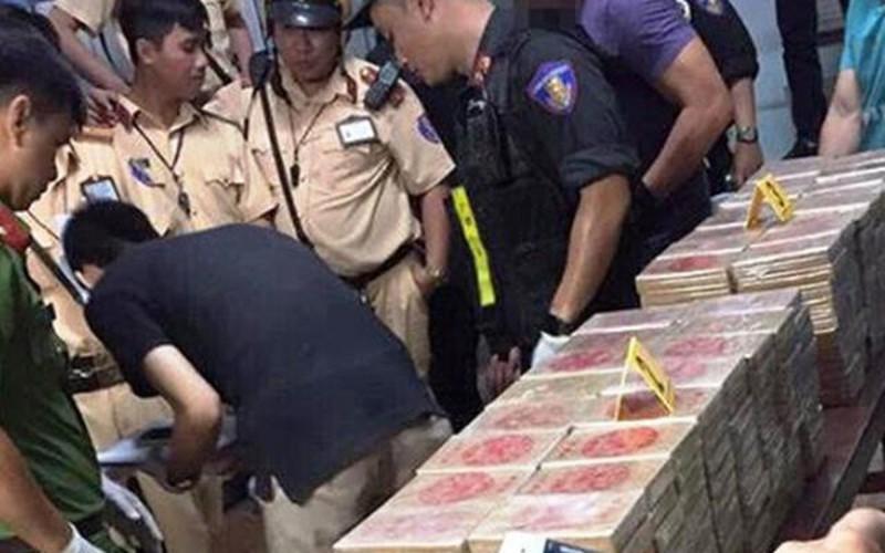 Phá đường dây ma tuý do người Đài Loan cầm đầu, thu gần 500 bánh heroin