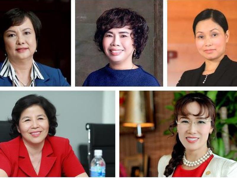 """10 nữ doanh nhân """"quyền lực"""" nhất Việt Nam"""